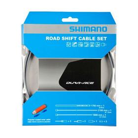 Shimano Road Schaltzug-Set polymerbeschichtet grau